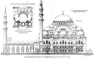 Resultado de imagen de Mezquita de Suleiman arquitectura