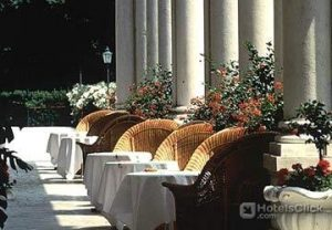 Hotel Des Bains  Venecia: Foto Terraza